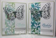Stampin'up - Schmetterlingsgruß