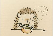 referát ježek