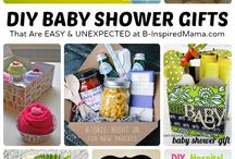 The Baby Shower Book - Gift Ideas / Great ideas for DIY Baby Shower gifts, curated for readers of The Baby Shower Book - the ultimate guide to hosting a baby shower! Snag your copy here: www.unoriginalmom.com/thebabyshowerbook