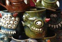 Keramikk m ungene
