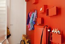 help, my son wants everything red in his new room