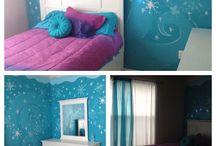 Frozen / Bedroom decor
