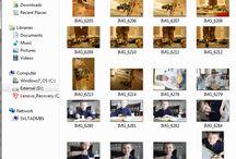 Photographs -organising