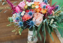 Where have all the flowers gone? / Bouquets of flowers to paint or sketch. Inspiration comes in all colours and shapes.