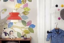 Wall Mural Ideas / Interesting ideas for printed wall paper or wall murals