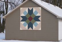 barn quilts / by Teresa Lowery
