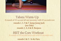 HIIT It and Workout Routines / A collection of interval training ideas and workouts