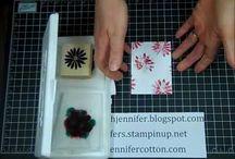 Tissue stamping