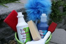 Green Cleaning Supplies / Mary combines your favorite cleaners and tools and showcases them in easy to order kits. Plus she discounts the kits to save you money and simplify ordering. When you find a must have cleaner or tool, check here for a kit.
