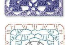 crochet patterns,diagrams, tutorials
