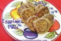 Eggplant Palle / Kitchen Wisdom Gluten Free Appetizer Eggplant Palle http://kitchenwisdomglutenfree.com/2016/02/17/eggplant-palle-forget-what-you-know-about-wheatc-2016/