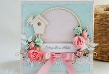 Cards / scrapbooking cards for various occasions
