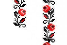 punto de cruz mexicano