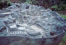Chinchero / Stone models (near Cuzco, Peru)