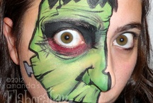 Halloween costumes and face paint / by Honah Stout Hough