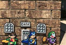 Hama Beads Batman