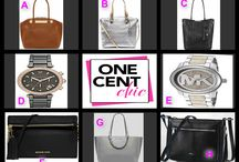 PRESIDENTS DAY WEEKEND AUCTION / Beautiful Chic Watches and Bags tonight at 9:30 PM ET Register, Buy Bids and Win at OneCentChic.com
