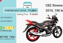 Droom Offers / Get here droom best offers for cars, bikes, motorcycles, bicycles etc.