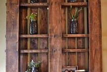 Pallet ideas / by Donna Reeser