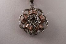 Chainmaille Pendants Ideas