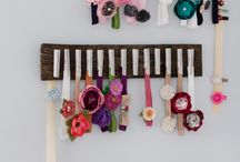 Sela's Headbands Display / I want to find the cutest & also most practical way to display Sela's headbands (my 7 month old daughter).