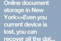 Online document storage in New York