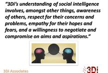 Social Intelligence / Our thoughts on one of our intelligences.