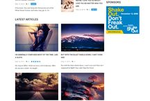 Magazine Website Themes