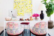 Trabajar con estilo / Oficinas y zonas de trabajo caseras decoradas con elegancia.