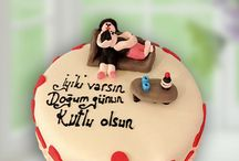 Dogum gunu pastasi / Doğum günü pastası siparişi verip onları mutlu edin