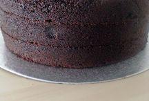 bizcochos, tartas de cumpleaños y coberturas