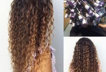 Perms/curls