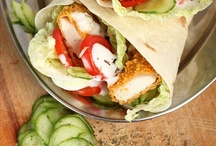 Wraps, Sandwiches and Pizza ! / Wraps, Sandwiches and Pizza !