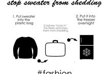 Fashion Hacks / #fashionhacks , #stylehacks... ideas on how to make your life simple :D