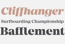 Design / typography