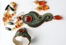 Beautiful handmade jewelry sets / A collection of absolutely OOAK, magnificent handmade jewelry sets, mostly beaded or soutache. Beautiful inspirations!