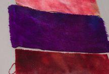 Wool dyeing