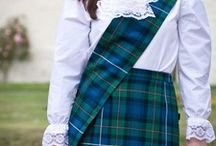 Ladies Traditional Scottish Sashes / Sashes for lassies