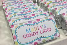 Maria's Candy Land Birthday Party  / A colorful candyland full off gumdrops, cupcakes and other delicious treats Colors.....candy... sugar and smiles everywhere!!!!!! What a Party!!!!  (We had so much fun with the planning of this party!!)