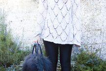 Jumper+Cardigan+Chunky Knit