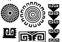 Símbolos (norte-sur-este-oeste)