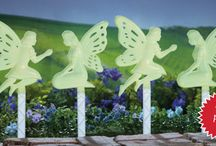 Fairy Gardens / These whimsical fairy decorations make a sweet addition to any garden.