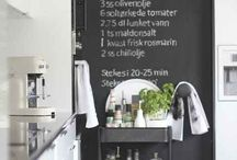 Kitchen & Dining-room Inspiration / Inspiration for my kitchen and dining-room
