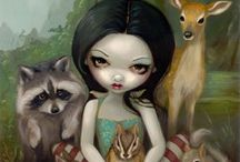 Molly Harrison & Jasmine Becket Griffith Art