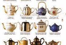 teapot antique coffee set