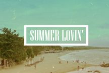 SUMMER // LOVIN / // swimsuits, summer fun, fireworks, pools, treats, 4th of July //