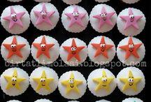 Cupcake-popcake / Cupcake ve popcake görselleri