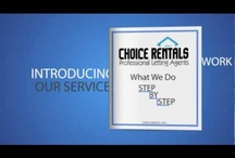 Choice Rentals Promotional Videos