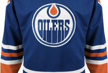 Edmonton Oilers - Official NHL Hockey Jerseys / We are the leading manufacturer of professional sports lettering & numbering and we have been selling officially licensed NHL jerseys and apparel via the internet since 1999. Visit: CoolHockey.com for more!