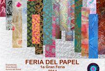 PAPELES DECORADOS / TÉCNICAS DE DECORACIÓN MIXTAS EN PAPELES PARA DISTINTOS USOS / by Silvia Borghi